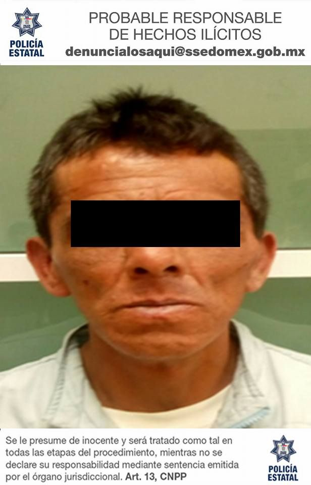 Presunto agresor sexual es aprehendido en Naucalpan