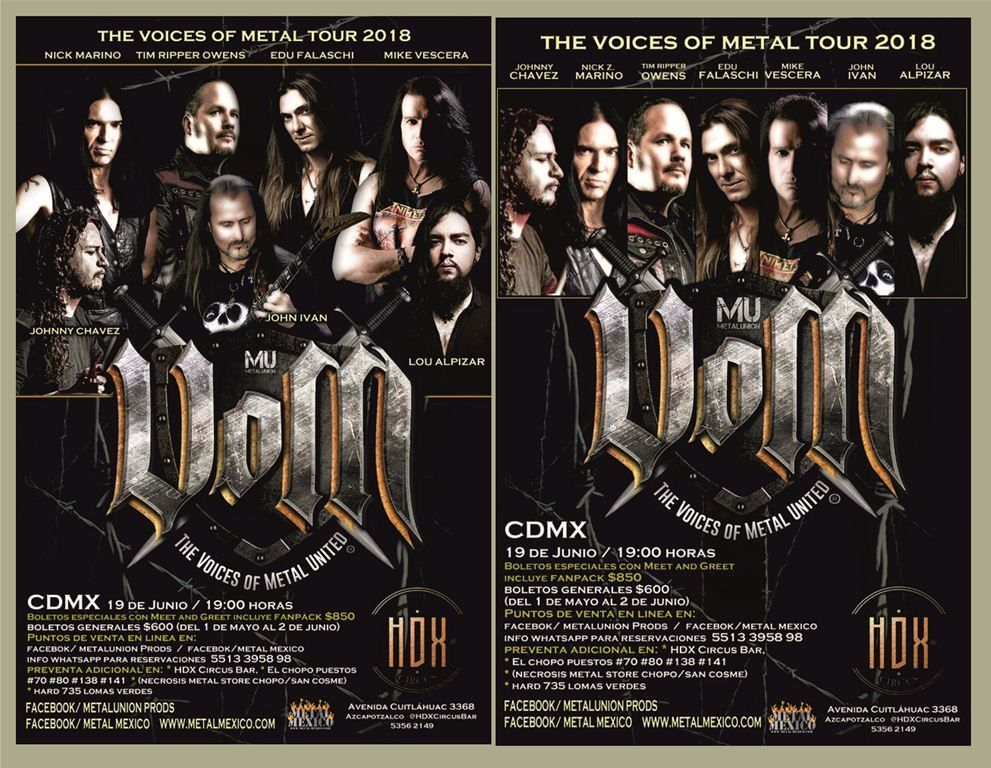 The Voices of Metal United (VOM)