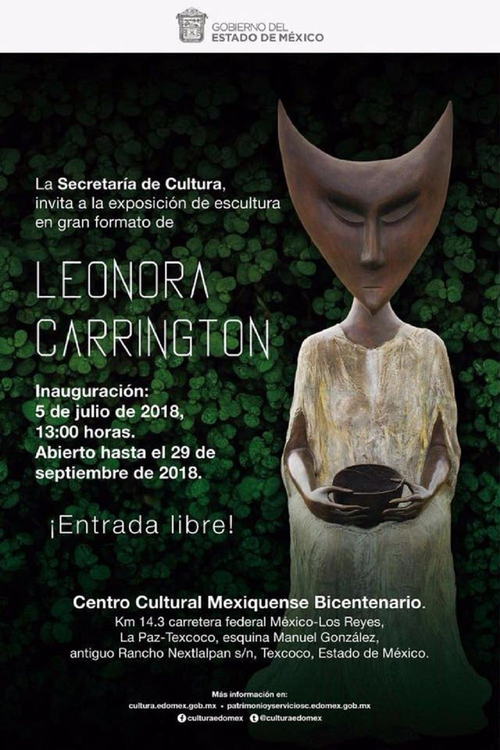 RECIBE CCMB EL SURREALISMO DE LEONORA CARRINGTON EN TEXCOCO