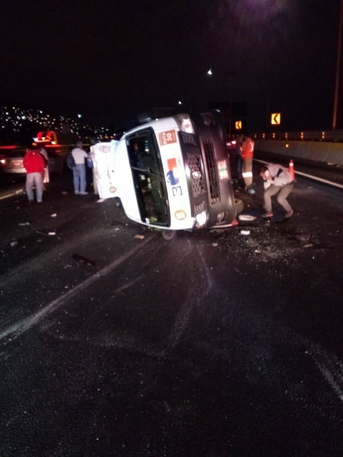 Fatal accidente en la México Pachuca