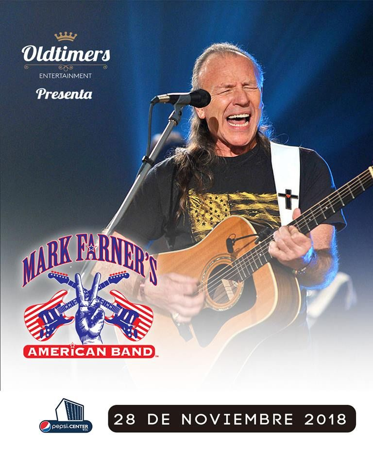 Mark Farner en el Pepsi Center