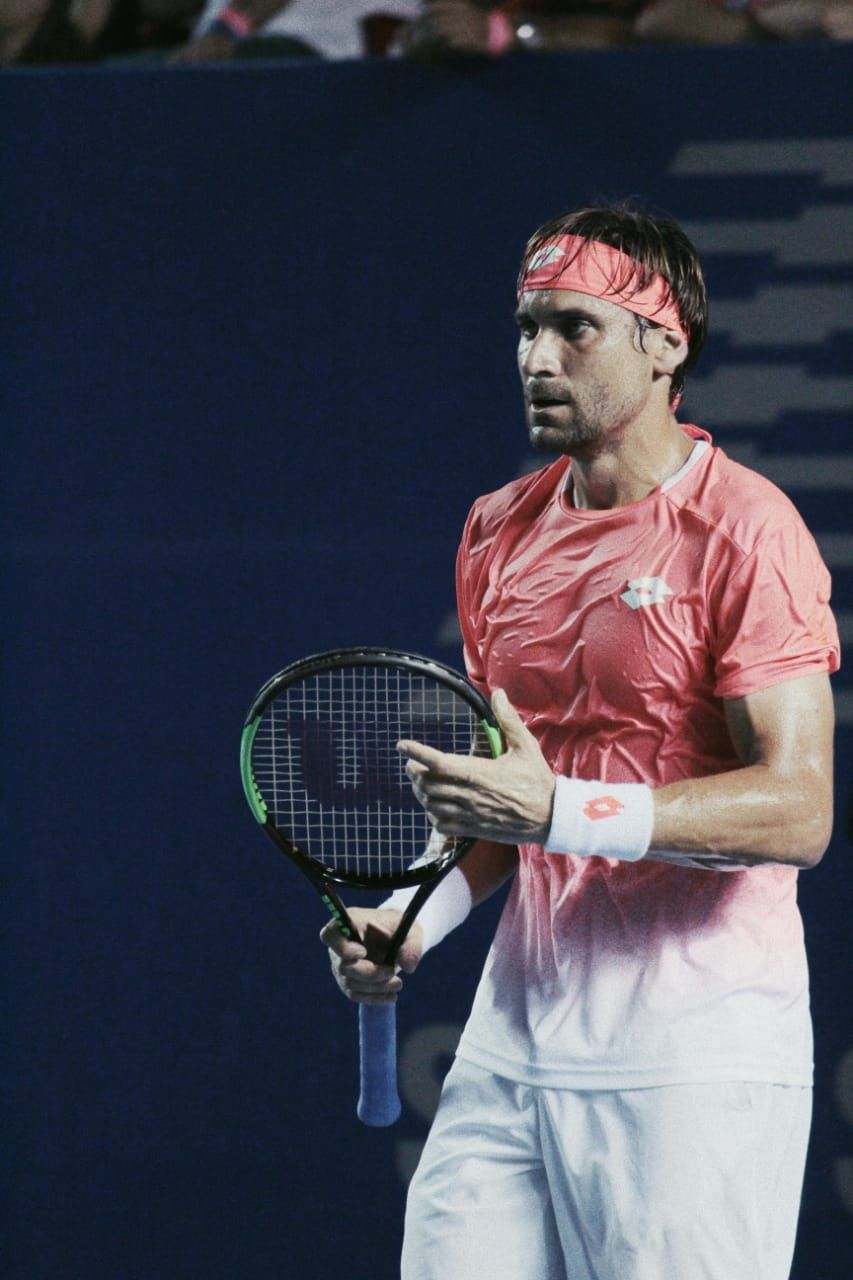 El sufrido debut de David Ferrer