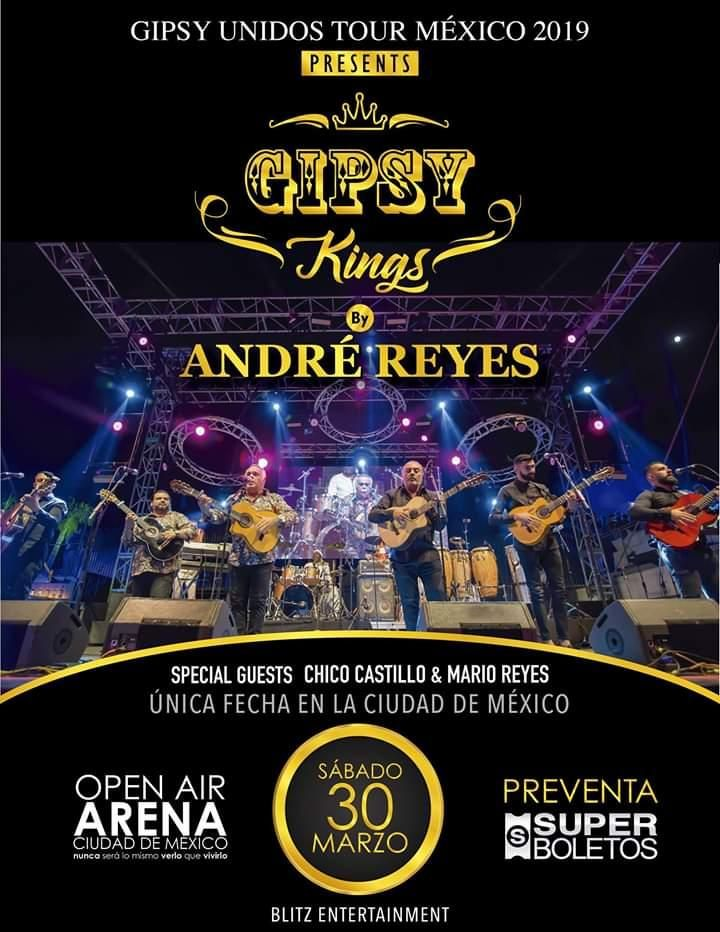 Gipsy Kings by André Reyes en CDMX