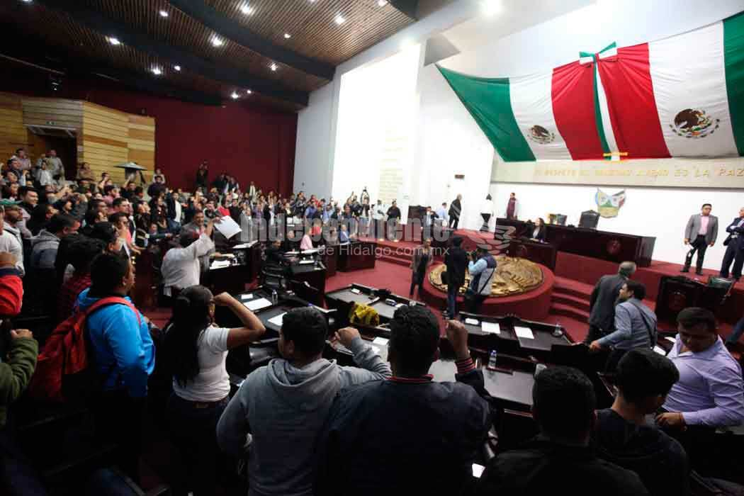 Ratifica Congreso de Hidalgo Guardia Nacional y Prisión preventiva