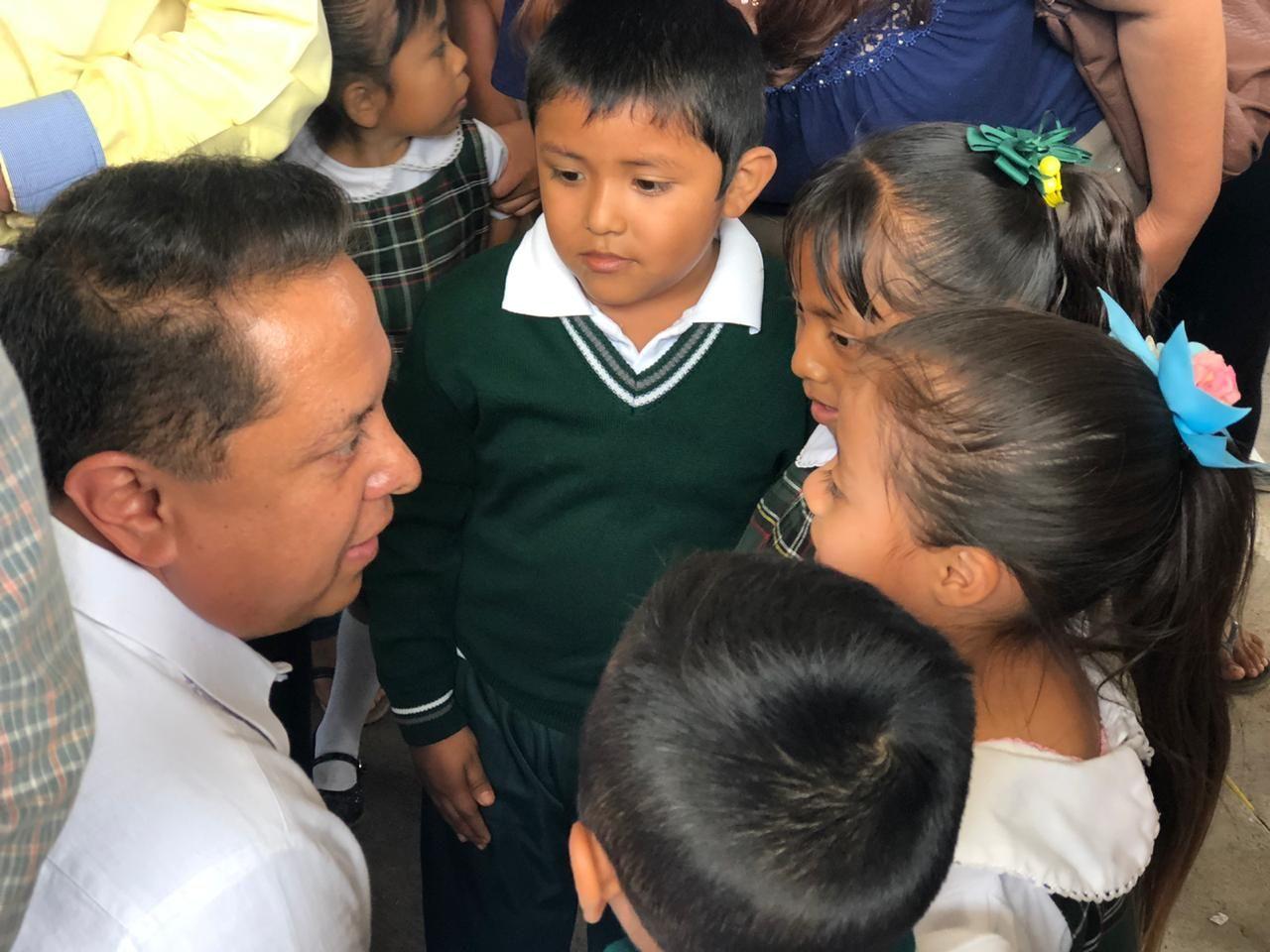 Arranca Pablo Amílcar Sandoval la 'Escuela es Nuestra' en Zumpango - todotexcoco.com