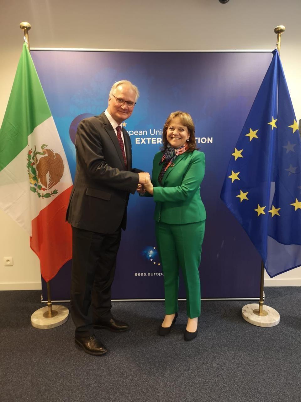 Encabeza subsecretaria Martha Delgado Peralta, Primera Reunión de Alto Nivel sobre Asuntos Multilaterales México-Unión Europea - todotexcoco.com