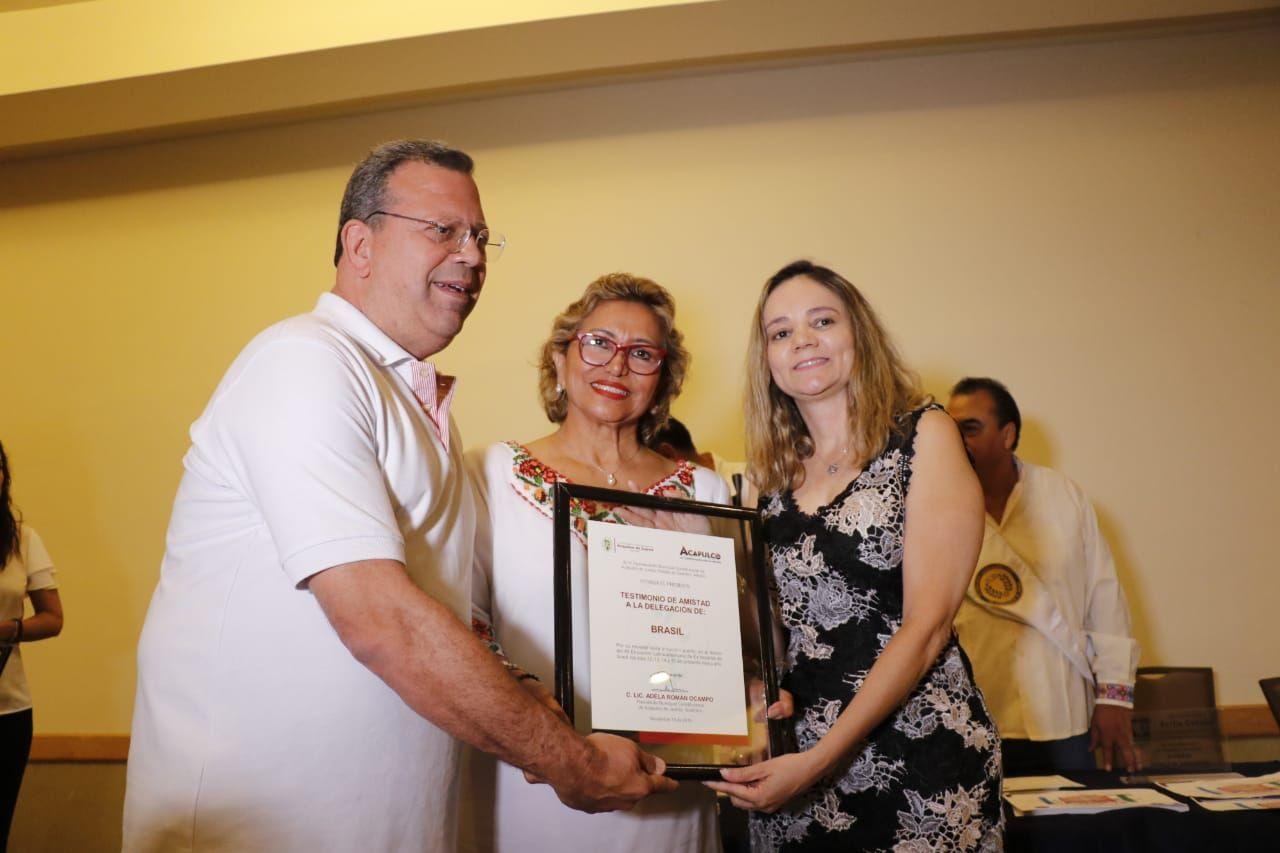 Clausura Adela Román el XII Encuentro Latinoamericano de Exbecarios de Israel - todotexcoco.com