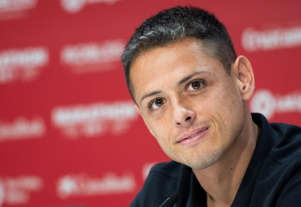 'Chicharito' ya viste la camiseta de LA Galaxy