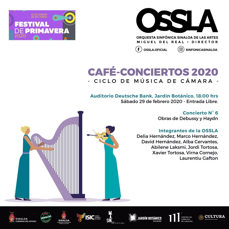 El Jardin Cafe Zonamerica: Este Sábado, VI Café-Concierto Será En El Auditorio Del